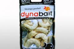 Fresh prawns fishing bait from Dynabait is serious bait for snappers, whiting, flatheads or bream