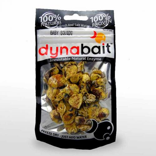 Baby squid fishing bait great for saltwater fishing