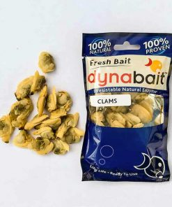 Dynabait fresh mussels fishing bait